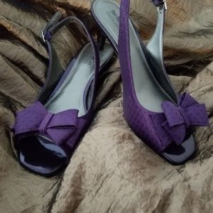 Coach and Four Shoes - Coach sling back heels 7.5